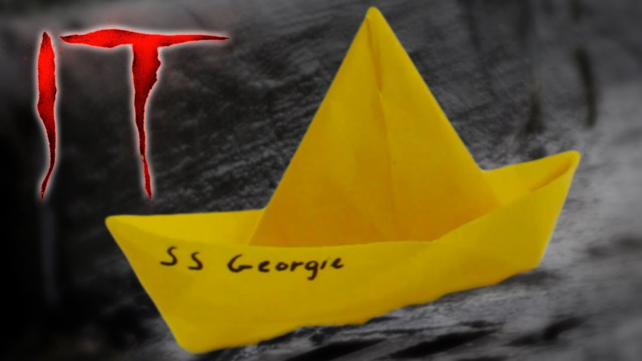 Ss Georgie Barco De Papel Impermeable De It Te Digo Cómo Youtube