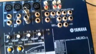 Как подключить микшер( на примере Yamaha Mg82cx(, 2014-04-22T15:55:09.000Z)