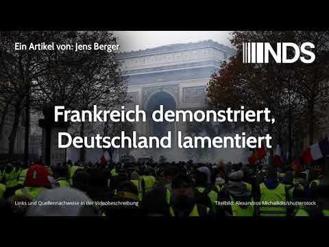 Frankreich demonstriert, Deutschland lamentiert | Jens Berger | NachDenkSeiten-Podcast