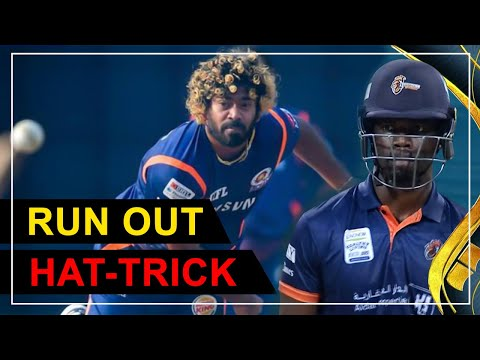 Run out Hat-trick (Malinga and Walton)