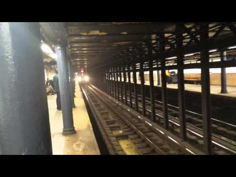 IRT Broadway-Seventh Avenue Line: Downtown & Uptown R142 & R62 (2) (3) Trains @ 125 Street-Lenox