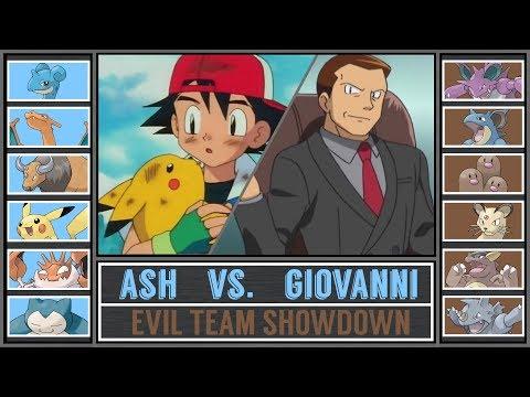 Ash vs. Giovanni (Pokémon Sun/Moon) - Evil Team Showdown