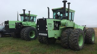 Pair of Steiger Tractors Sold on Montana Farm Auction Today 5/21/16