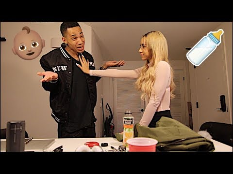 Got Another Girl Pr3gnant Prank!