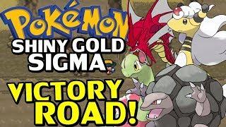 Pokémon Shiny Gold Sigma (Detonado - Parte 22) - Chegando na Victory Road!