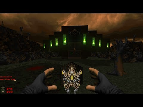 Whispers of Satan | Level 16: Undervilla [Brutal Doom: Black Edition v3.1d Final]