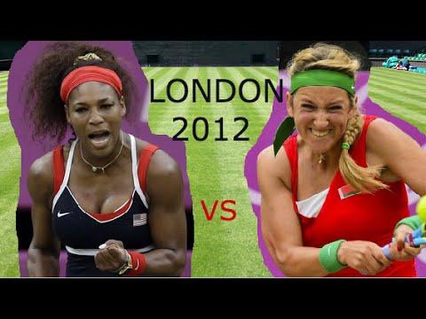 Serena Williams vs Victoria Azarenka (Semi Final Olympics 2012 Highlights)
