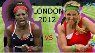 Serena Williams vs Victoria Azarenka (Semi Final Olympics 2012 Highlights)