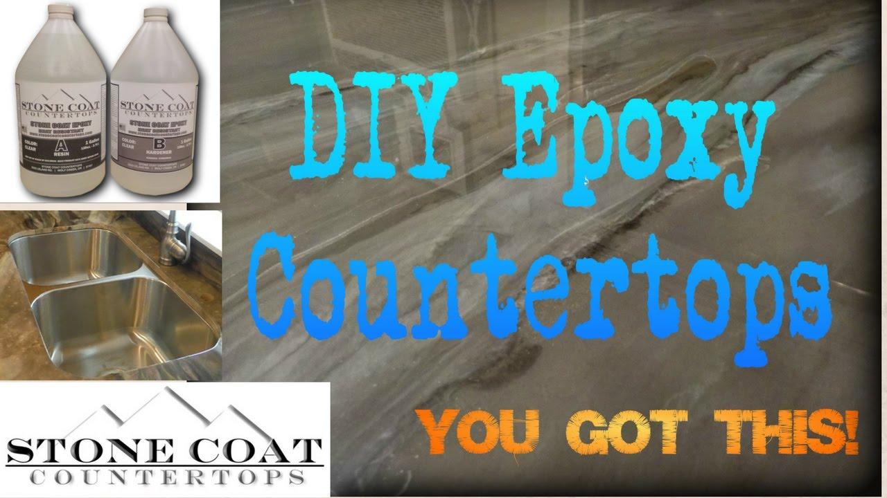How To Make Epoxy Countertops Youtube