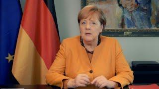"""Merkel im Videopodcast: """"Gebot der Stunde heißt Kontakte reduzieren"""""""