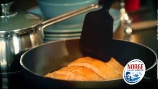 Горячее блюдо с норвежской семгой к праздничному ужину