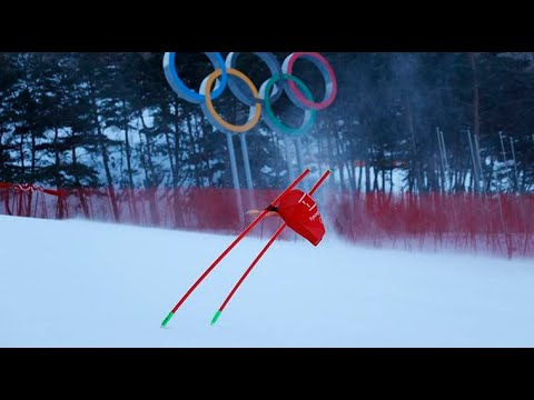 Winter Olympics 2018: Organisers get creative as winds threaten day three