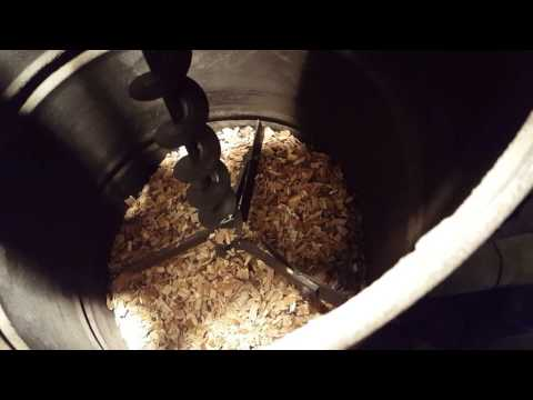Patent pending wood chip and sawdust fuel delivery