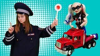 Волшебный шкаф  - Харли Квин и полицейский - Видео для девочек