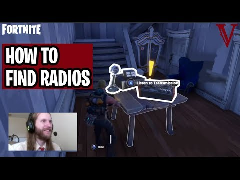 How to Find Radios | The Big Picture | Canny Valley Act 2 | Fortnite Save the World | TeamVASH