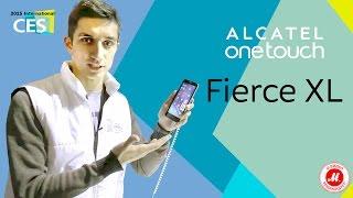 CES 2016. Обзор смартфона Alcatel Fierce XL