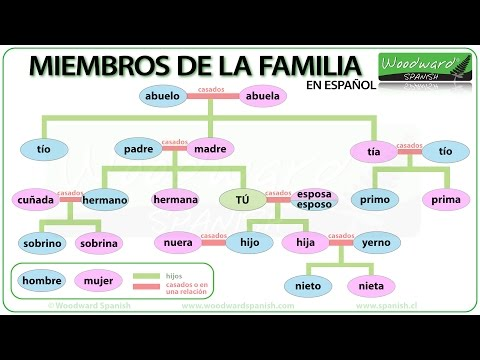Family members in Spanish