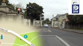 SSE Airtricity Dublin Marathon Route 2014
