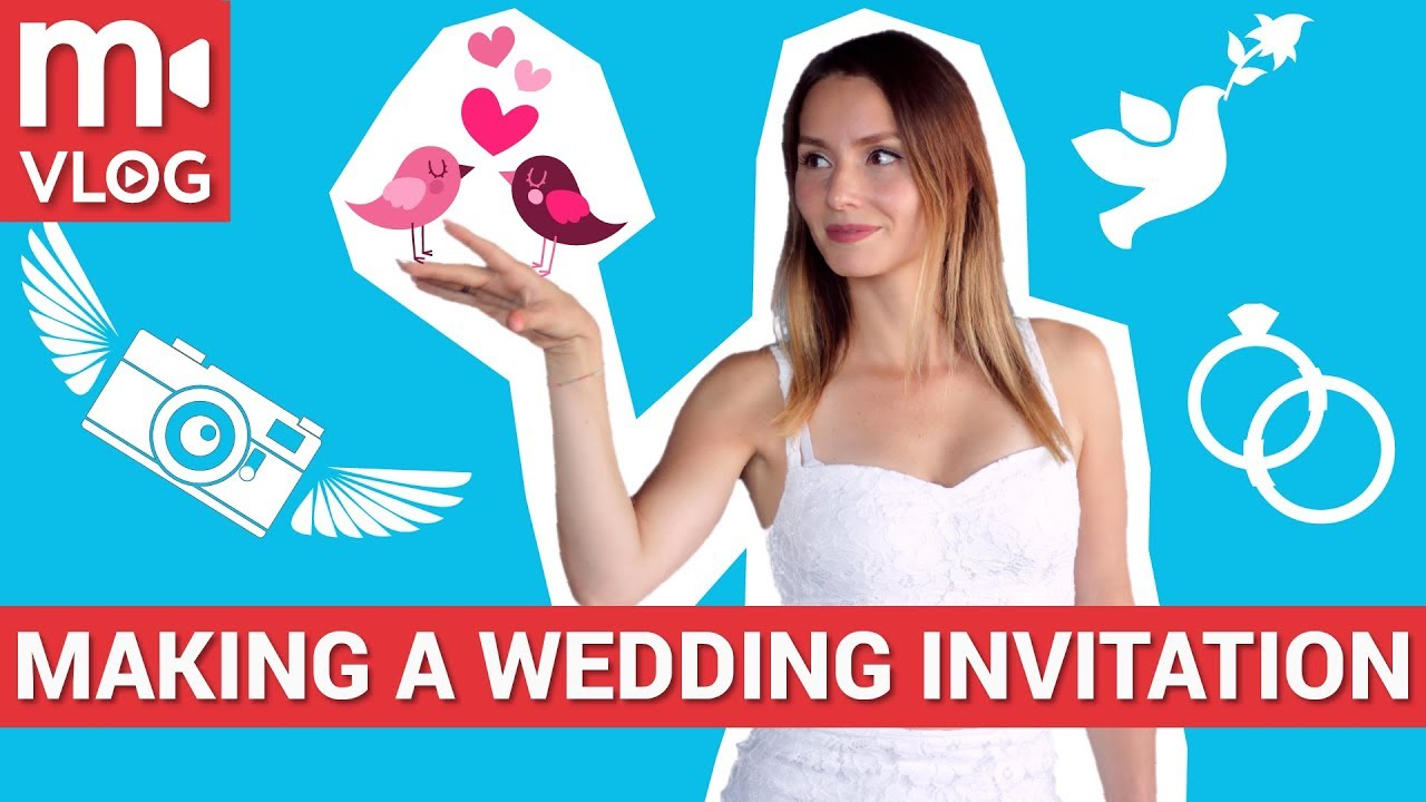 How to make a great wedding invitation video youtube how to make a great wedding invitation video stopboris Images