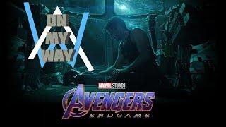 Avengers : Endgame | Alan Walker - On My Way ( Music Video )