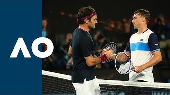 Roger Federer vs John Millman - Extended Highlights (R3)   Australian Open 2020