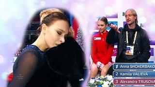 Итоги короткой программы у женщин на Чемпионате России по фигурному катанию