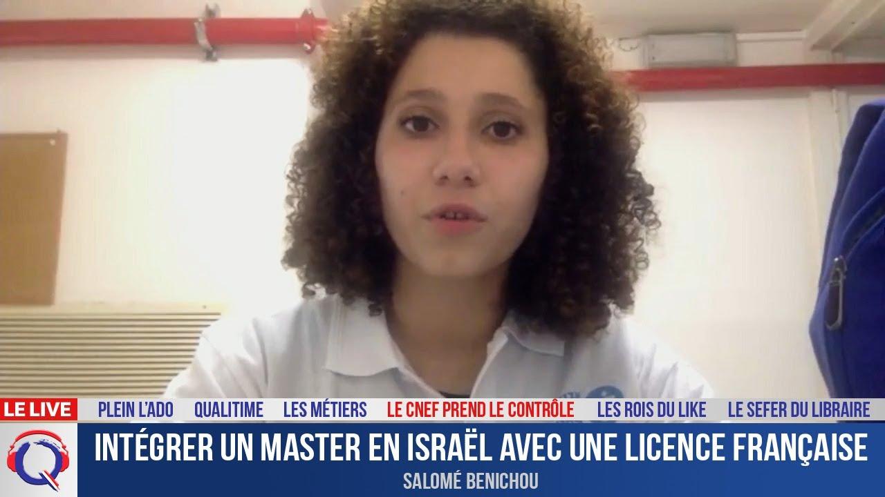Intégrer un master en Israël avec une licence française - CNEF#61