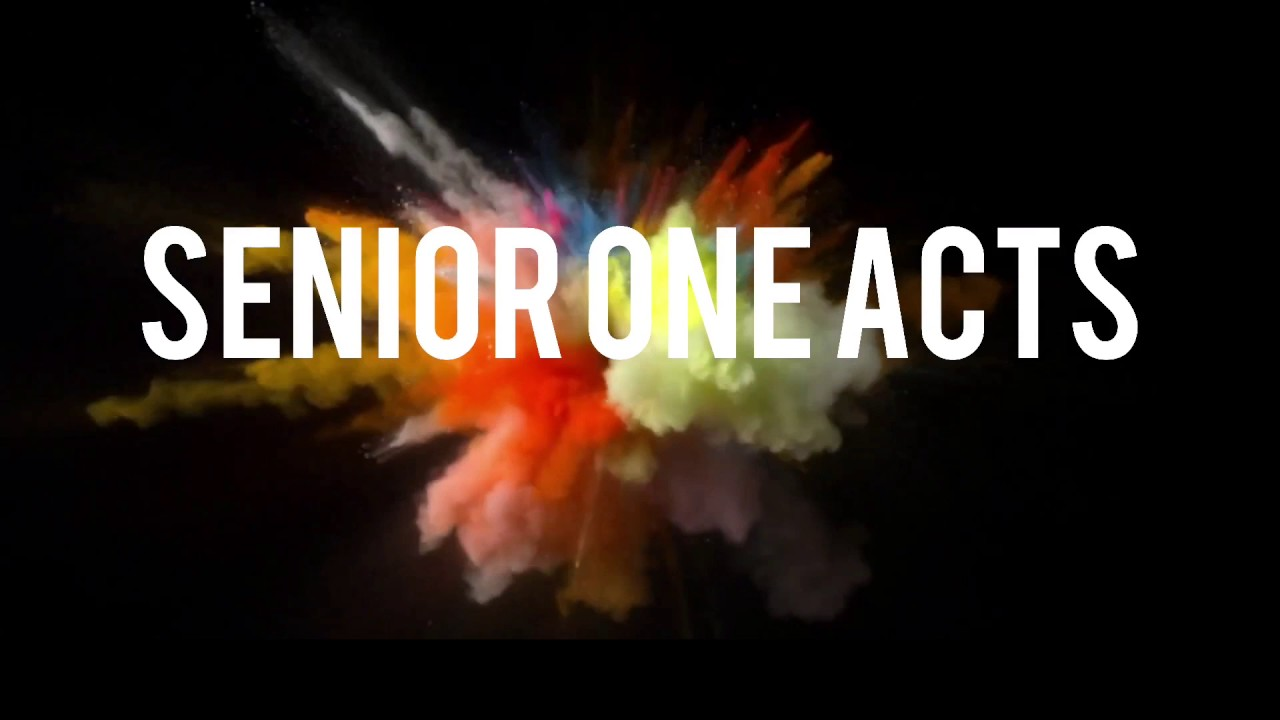 Image result for Senior One Acts