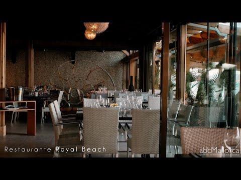 Restaurant Royal Beach in Playa del Muro, Mallorca