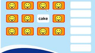 Learn Words, English Education for Kids, Fast Food Memory Game