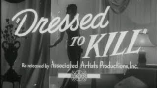 Sherlock Holmes: Dressed To Kill (1946) TRAILER