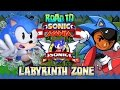 Road To Sonic Mania: Sonic The Hedgehog Part 4 - Labyrinth Zone (christian Whitehead Remake) video