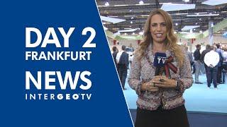 Day 2 in Frankfurt - INTERGEO TV NEWS 2018