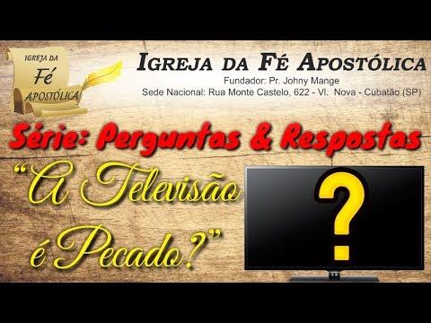 Relíquia: Pr. Johny Mange - Os Telões LCD - Smart TV - Televisão é Pecado?