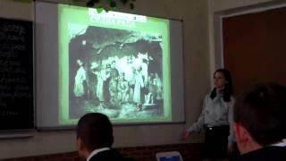 Урок української літератури, присвячений творчості Шевченка