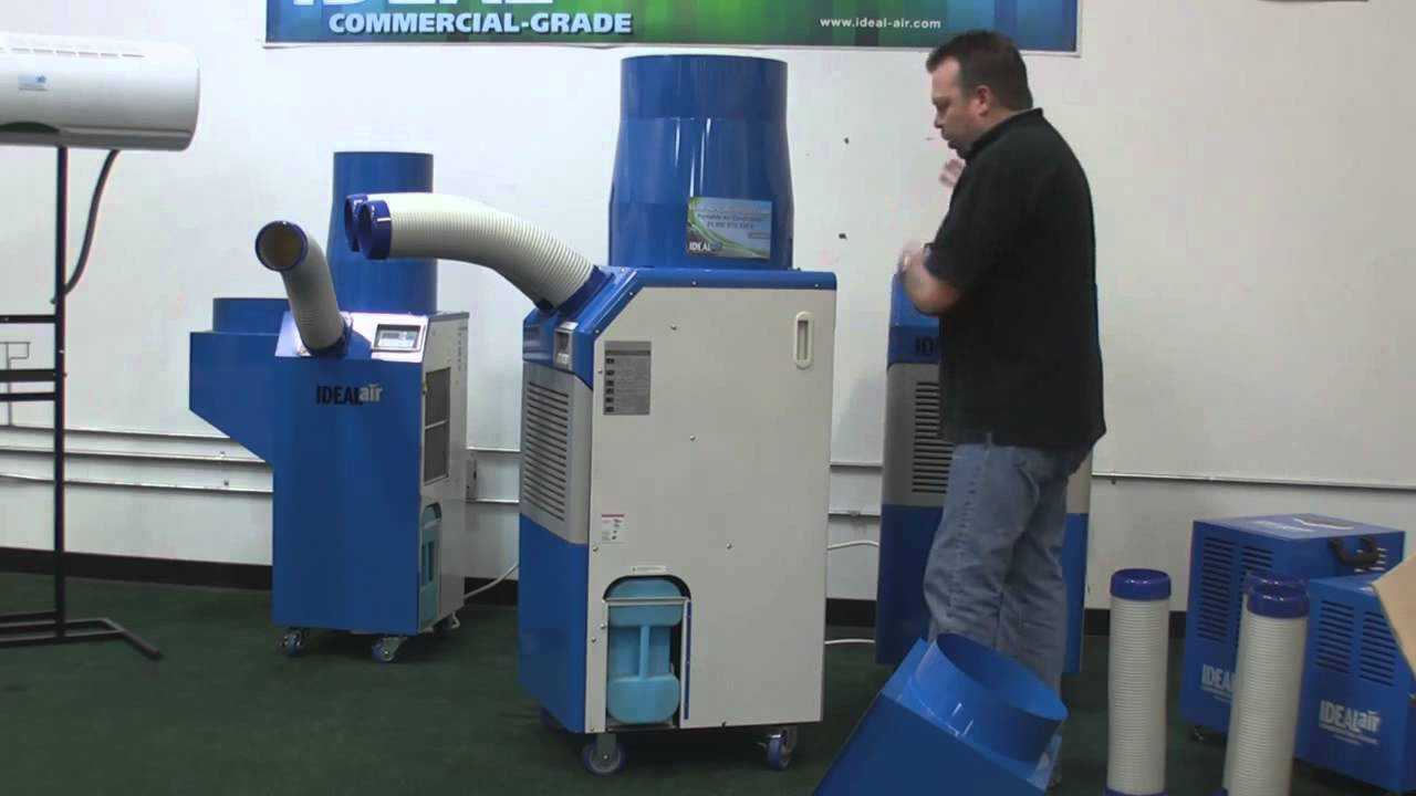 Commercial Portable Air Conditioner Overview Youtube