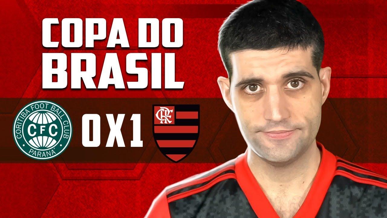 Flamengo 1 x 0 Coritiba Copa do Brasil, ganhamos, MAS...