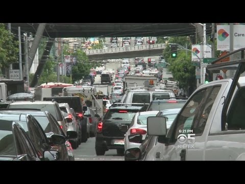 Bay Area Traffic Congestion Prompts Outside-The-Box Solutions