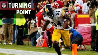 Antonio Brown's Circus Catch Takes Down the Undefeated Chiefs (Week 6) | NFL Turning Point