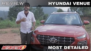 Hyundai Venue Review | Most Detailed | Hindi | MotorOctane
