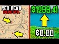 THESE SECRET MONEY MAKING LOCATIONS WILL MAKE YOU RICH in Red Dead Online!