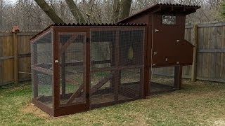 Detachable Chicken Run/chicken Tractor