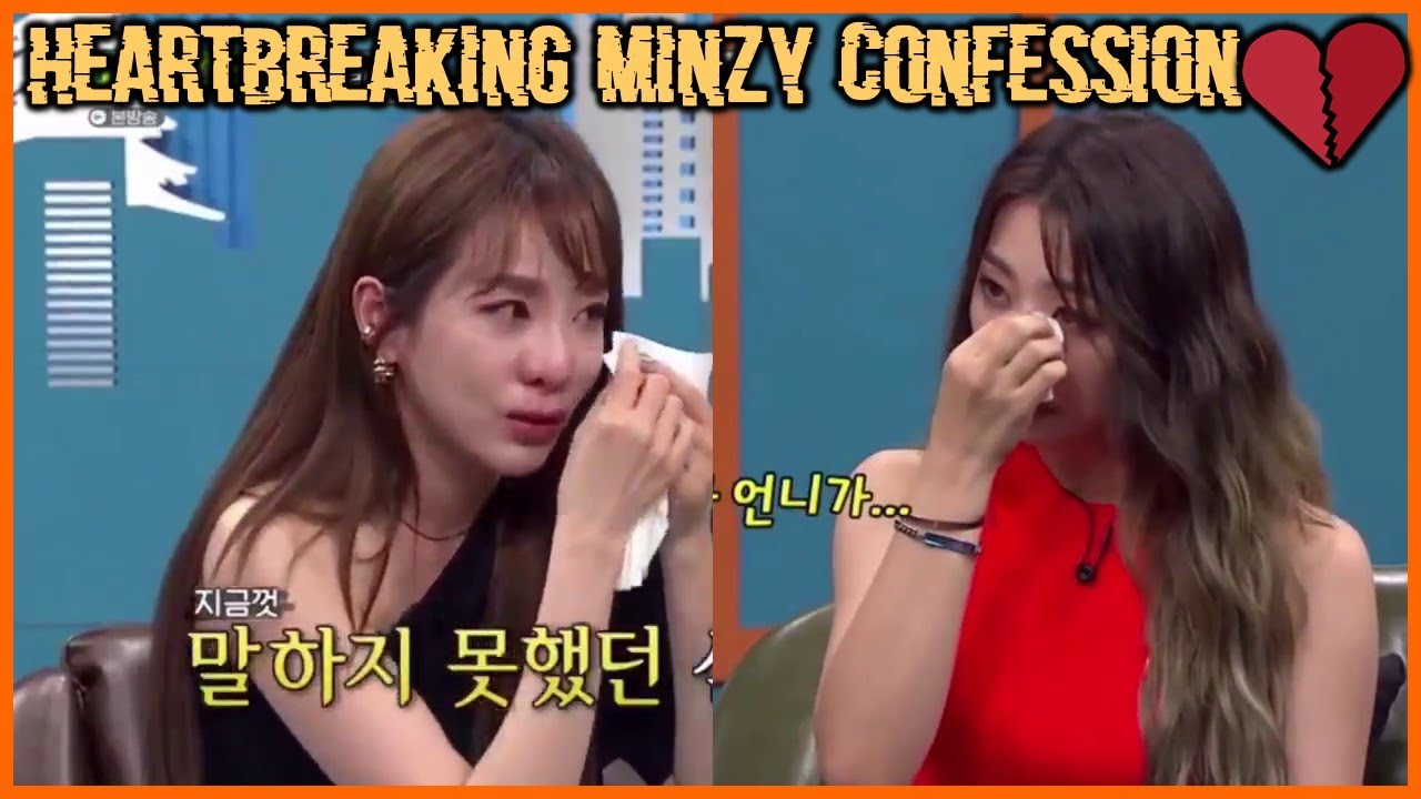 The heartbreaking confession of Minzy after leaving 2NE1 (Video Star) 감정적 인 에피소드 - YouTube