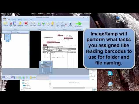 Automated ScanSnap file naming with Barcodes.