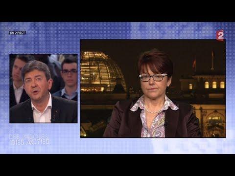 France Télévisions censure le passage avec Jean-Luc Mélenchon ! Replay d'un débat bloqué