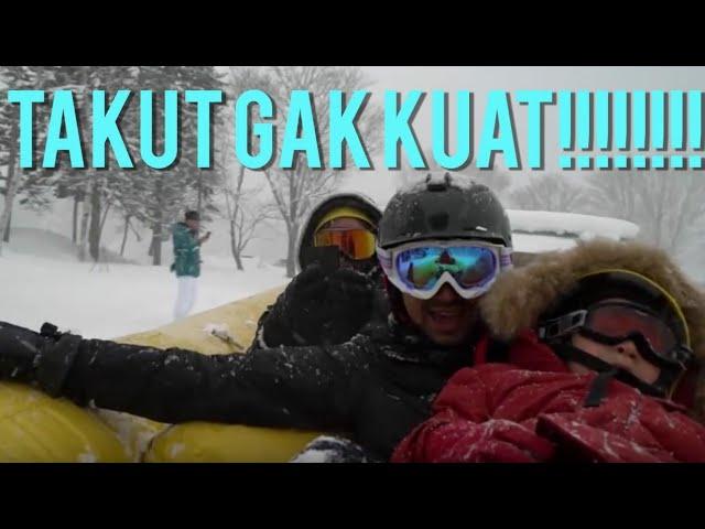 Gak Tega Ngeliat Rafathar Nangis Kejer Di Badai Salju -10 Derajat!!
