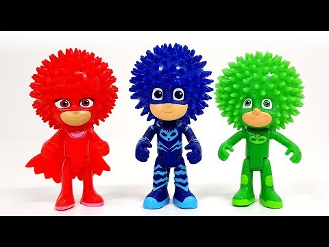 PJ Masks turned into a pointed ball and was in trouble �� Rachaman Toy