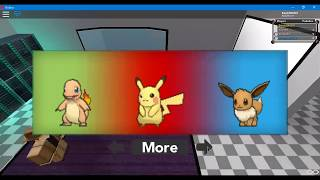Let's go pichu and lrt's go eevee on roblox