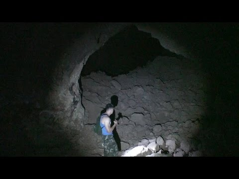 Arden Plaster Mines, Ft Apache caves in Las Vegas Nevada (Sunday Hill abandoned mine)