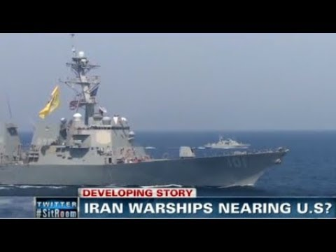BREAKING Iranian Navy Chief Will Send Warships to USA Atlantic Ocean & Gulf of Mexico November 2017
